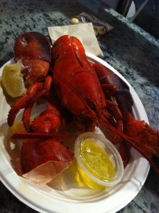 Lobster from Chelsea Market