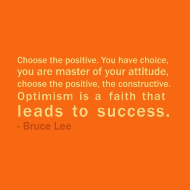 choose the positive
