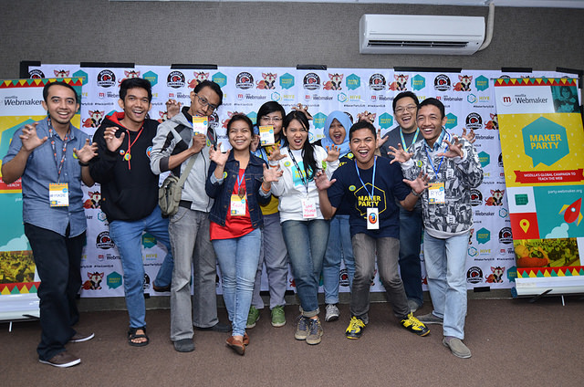 Maker Party Indonesia  Source: http://bit.ly/1BR9non