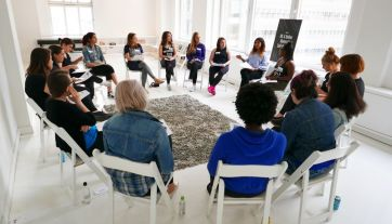 Teaching a self-defense working in NYC for women
